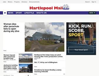 hartlepoolmail.co.uk screenshot