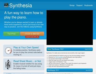 synthesiagame.com screenshot