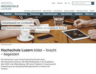 hslu.ch screenshot