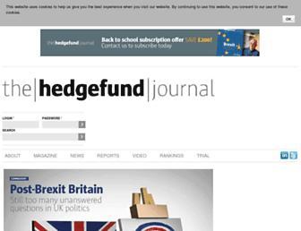 thehedgefundjournal.com screenshot
