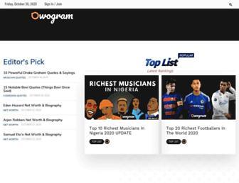 owogram.com screenshot