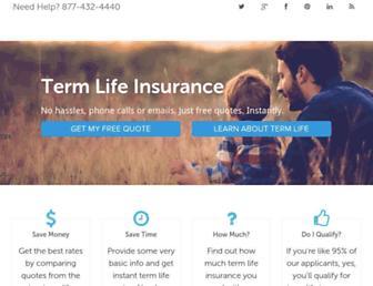 quickquote.com screenshot