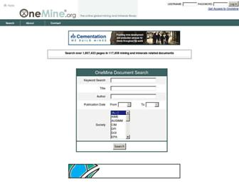 onemine.org screenshot