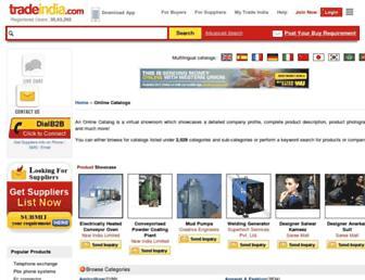 onlinecatalogs.tradeindia.com screenshot