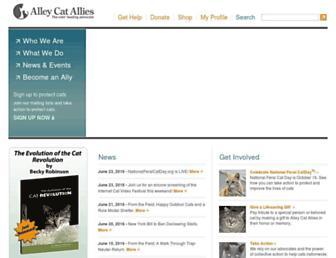 Thumbshot of Alleycat.org