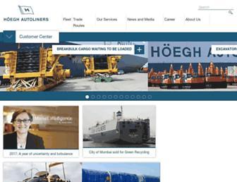 hoeghautoliners.com screenshot