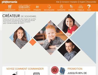 photomania.ca screenshot