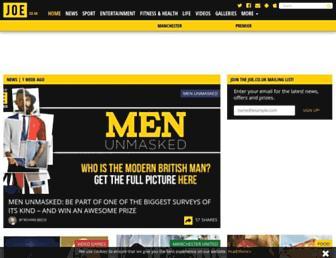 joe.co.uk screenshot