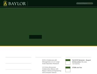 web.ecs.baylor.edu screenshot