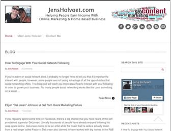 jensholvoet.com screenshot
