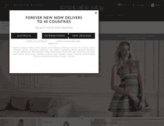 forevernew.com.au screenshot