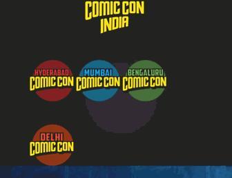 Thumbshot of Comicconindia.com