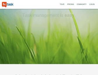 Thumbshot of Hitask.com