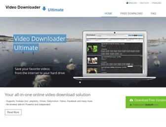 Thumbshot of Videodownloaderultimate.com