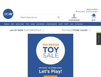 Thumbshot of Bigw.com.au