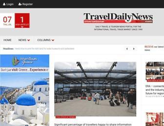 traveldailynews.com screenshot