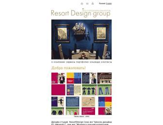 resortdesign.ru screenshot