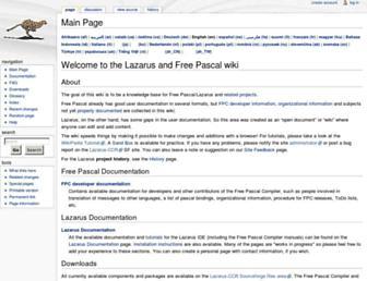 wiki.freepascal.org screenshot