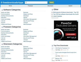 freedownloadsapps.com screenshot