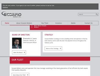 scorpiobulkers.com screenshot