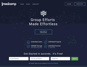 freedcamp.com screenshot