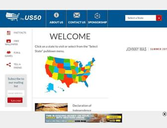 theus50.com screenshot