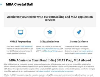 Thumbshot of Mbacrystalball.com
