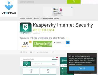kaspersky-internet-security.en.uptodown.com screenshot