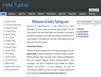 Thumbshot of Indiatyping.com