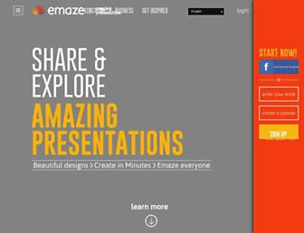 Thumbshot of Emaze.com