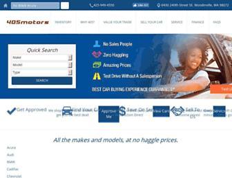 405motors.com screenshot