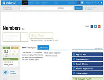 numbers.en.softonic.com screenshot