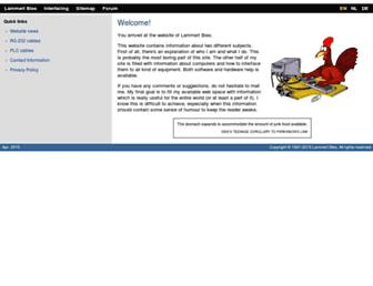 lammertbies.nl screenshot