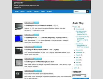 panassoder.blogspot.com screenshot