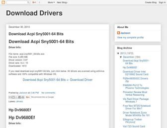 downloaddrivers9.blogspot.com screenshot