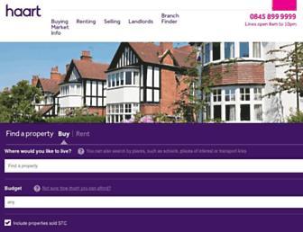haart.co.uk screenshot