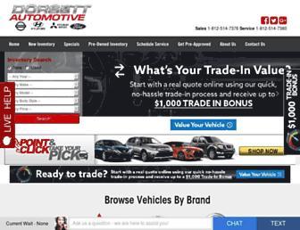 dorsettautomotive.com screenshot