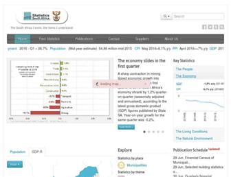 Thumbshot of Statssa.gov.za