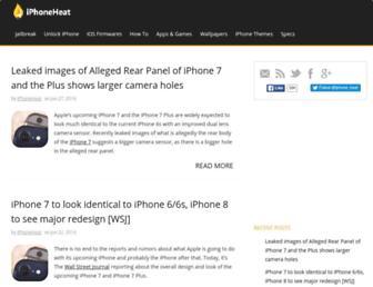 iphoneheat.com screenshot