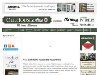 oldhouseonline.com screenshot