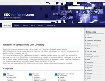 Thumbshot of Seoconfused.com