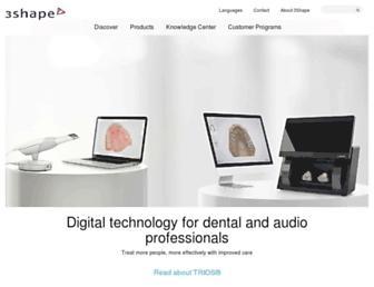 3shape.com screenshot
