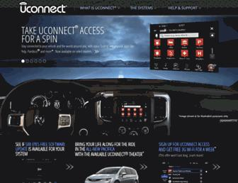 driveuconnect.com screenshot