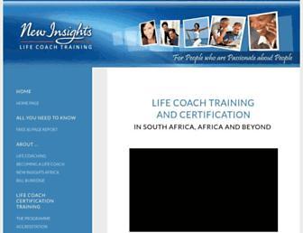 Thumbshot of Life-coach-training-sa.com