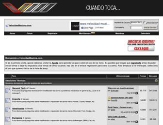 Thumbshot of Velocidad-maxima.com