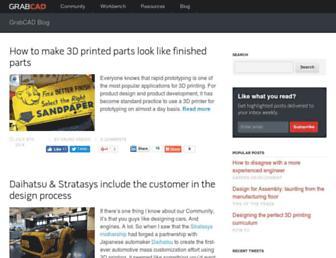 blog.grabcad.com screenshot