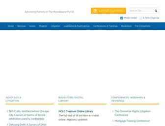 nclc.org screenshot