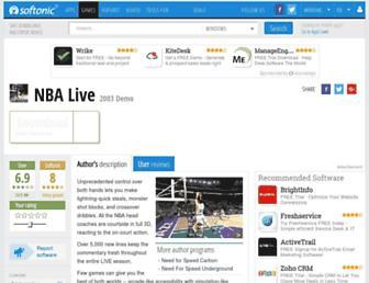 nba-live.en.softonic.com screenshot