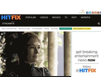 Thumbshot of Hitfix.com