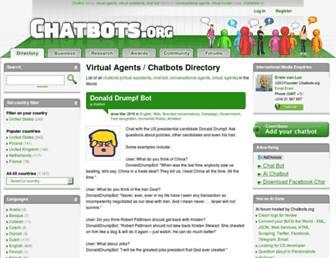 Thumbshot of Chatbots.org